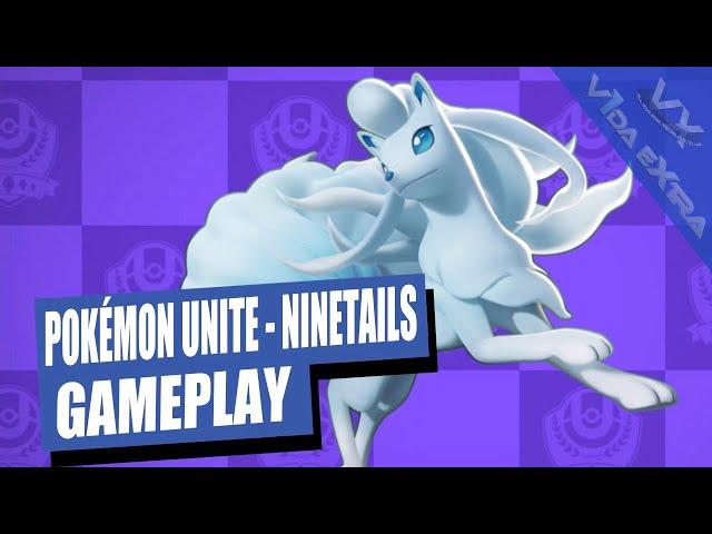 Pokémon UNITE Victoria escalofriante con Vulpix y Ninetales de Alola