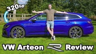VW Arteon R Shooting Brake review - better than a BMW M340i?