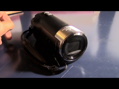 Sony HDR-CX240 Camcorder Product Review