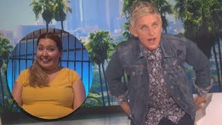 Ellen Degeneres Catches Audience Member - Video Youtube