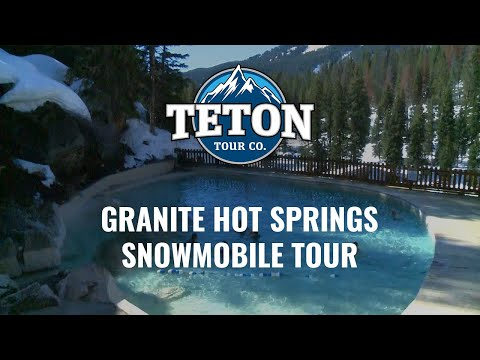 Granite Hot Springs Snowmobile Tour