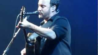 "Dave Matthews Band performs ""Broken Things"" for the First Time Live at the Izod Center on 11/30/12"