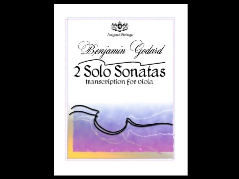 Benjamin Godard - Sonata for violin solo no.1 Transcription for viola solo Live at Blue Lake Fine Arts Camp