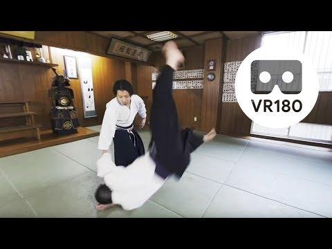 【VR180/3D】Hakkoryu Jujutsu, Japanese Martial Arts Up Close and Personal: G.T.A. Japan