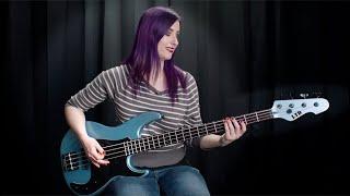 Ltd Basse AP 4 cordes Pelham Blue - Video