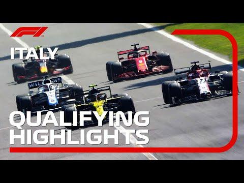 F1 2020 第8戦イタリアGP(モンツァ)予選のハイライト動画。激戦のF1予選の様子をダイジェストで一気見