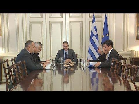 Συνάντηση Π/Θ με την  οργάνωση της Ελληνικής Εθνικής Μειονότητας στην Αλβανία