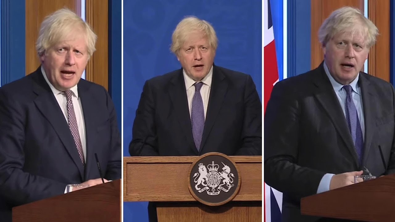 Watch: Boris Johnson's mixed messages over Freedom Day on July 19