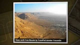 preview picture of video 'Dead Sea Sights - Qumran, Masada, & Ein Gedi Friesendm's photos around Masada, Israel'