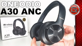 OneOdio A30 Active Noise Cancelling Wireless Headphones Review