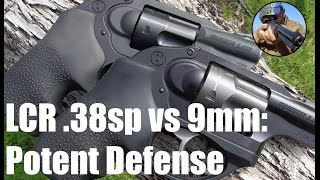 Ruger LCR - 38 special VS 9mm