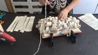 Time Lapse Video - Book Art Sculpture