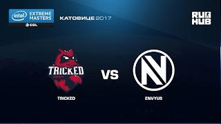 Tricked eSports vs. EnVyUs - IEM Katowice EU - map1 - de_dust2 [CrystalMay, ceh9]