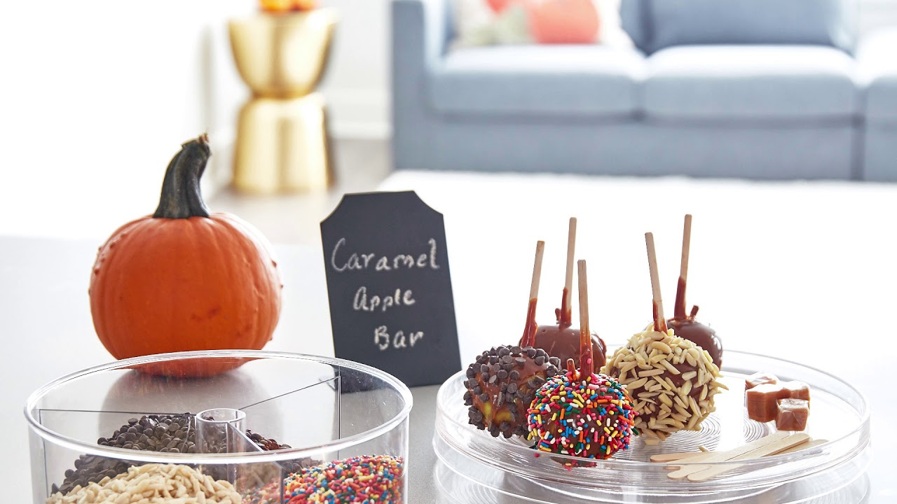 Fall - Caramel Apple Bar