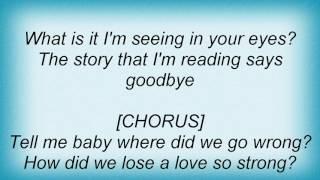 Human Nature - Don't Say Goodbye Lyrics
