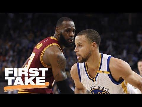 Stephen A. And Max Make NBA Finals Predictions | First Take | May 29, 2017
