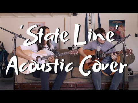 My friend Josh and I perform a cover of 'State Line' by The Dip, as an acoustic duo.