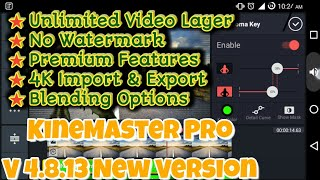 kinemaster pro apk download no watermark with video layer
