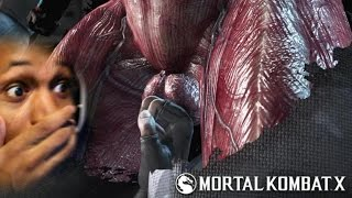 WHAT DID SHE JUST DO TO HIM!? | Mortal Kombat X #4