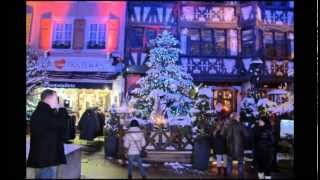 preview picture of video 'DECORATION DE NOEL SAVERNE**ALSACE**DOMAINE DE RABREUX**267'