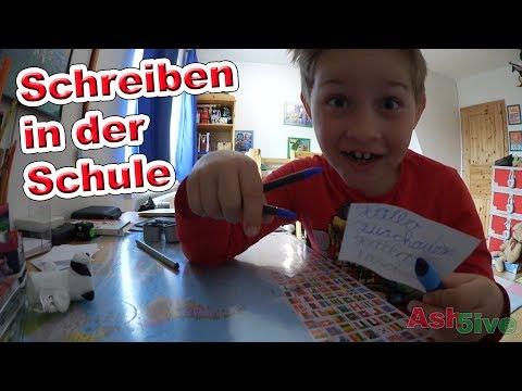 Schreiben in der Schule | Füller, Tintenroller, oder Bleistift? | Ash5ive
