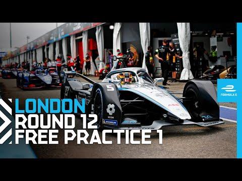 フォーミュラE ロンドンE-PRIX フリープラクティス1のフル配信動画