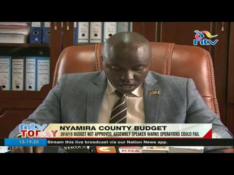 Crisis looming in Nyamira after county assembly fails to pass budget