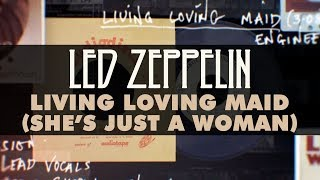 Led Zeppelin - Living Loving Maid (Shes Just A Woman) (Official Audio)