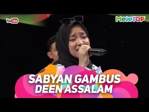 , title : 'Sabyan Gambus Deen Assalam | Persembahan Live MeleTOP | Nabil & Tya Ariffin'