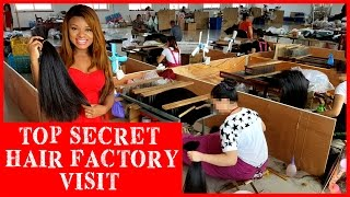 360 Hair factory Visit |Full Lace Wigs | Lace Front Wigs |  Frontal & Clsoure Hair Factory Visist