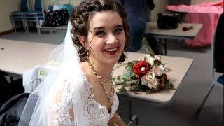 A Country Christmas Wedding! ❤️ 🎄 Kristen & Hunters Wedding Day Vlog