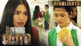 Marga, itinapon ang pancake kay Cassie | Kadenang Ginto (With Eng Subs)