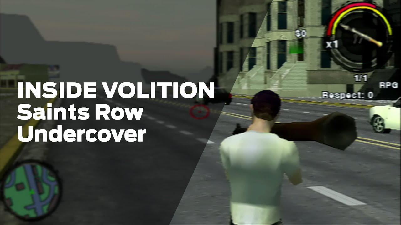 PSP Saints Row Undercover Officially Released Prototype