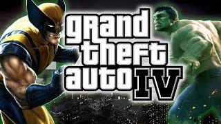 Spider Man VS The Incredible Hulk - Epic Fight / Battle - GTA IV