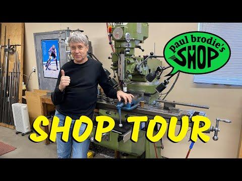 Шоп-тур! Мотоциклы, инструменты и необходимые приспособления для сборки рам - с Полом Броди