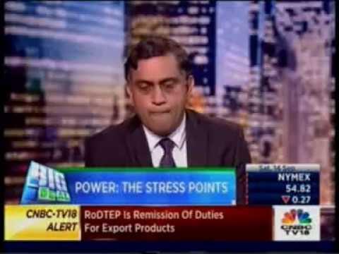 Mr Ramesh Subramanyam, CFO, TATA Power in conversation with CNBC TV18