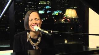 "Alicia Keys' ""Brand New Me"" Performance from the YouTube Livestream with Google+ Hangout Event"