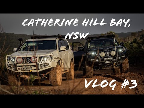 Catherine Hill Bay, NSW - Early Morning 4x4 Session  ** VLOG 3 **