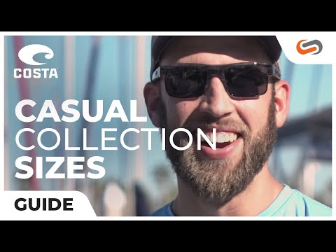74cd601ae6 Costa Men s Sunglass Size Guide - Casual Collection