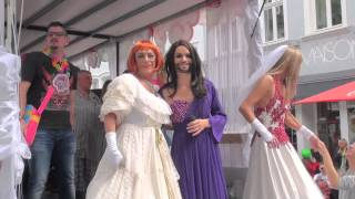 preview picture of video 'CSD Parade 2014 Saarbrücken'