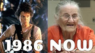 Aliens Cast Then and Now