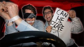 I Locked My Friend In A Car With No Food - Escape Room Challenge