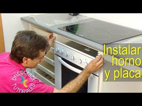 Instalar una placa de cocina y un horno (Bricocrack)