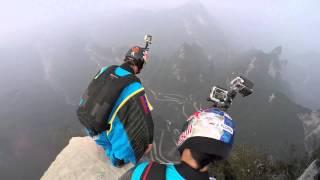 World Wingsuit League slow motion exit