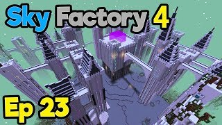 Minecraft Sky Factory 4 - ViesCraft Airship & Gas Burning