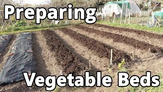 Preparing Vegetable Beds