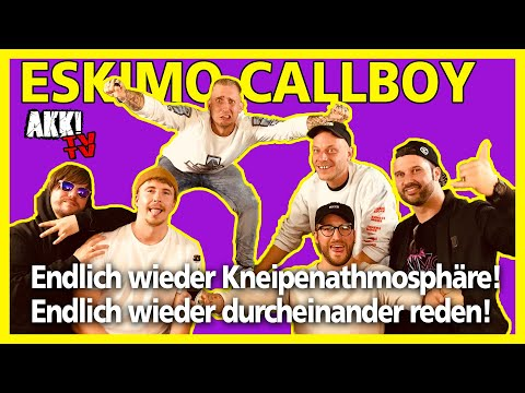 """Eskimo Callboy: endlich wieder durcheinander reden! """"Akk! TV TV"""""""