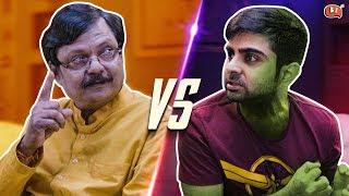 Papa vs Avengers | Ft. Atul Shrivastava and Akash Deep Arora | Being Indian
