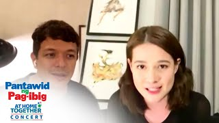 Bea Alonzo and Jericho Rosales appeal for donations | Pantawid ng Pag-ibig At Home Together Concert