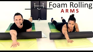 15mins ARMS FOAM ROLLING SESSION: Train Along, Detox, Myofascial Release by Coach Ali